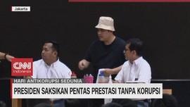 VIDEO: Presiden Saksikan Pentas Prestasi Tanpa Korupsi