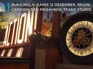 Begini Canggih dan Megahnya Trans Studio Bali!