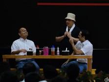 Duet Erick-Nadiem Dihadapan Mahasiswa, Ngapain?