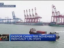 Gawat... Ekspor China Terkontraksi Lagi..