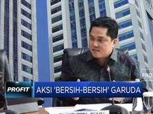 Aksi 'Bersih-Bersih' Direksi Garuda
