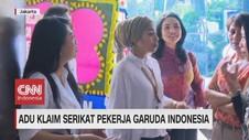 VIDEO: Adu Klaim Serikat Pekerja Garuda Indonesia