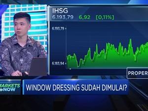 Window Dressing Dimulai, IHSG Masuk Zona Hijau