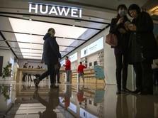 Disanksi Trump, Huawei Jadi Raja HP Dunia Kalahkan Samsung