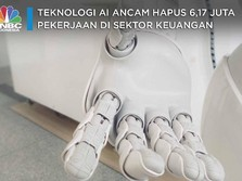 Duh, 'Robot AI' Ancam Sikat 6,17 Juta Pekerjaan Wall Street