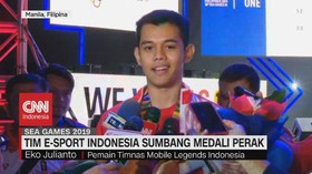 VIDEO: Tim E-Sport Indonesia Sumbang Medali Perak