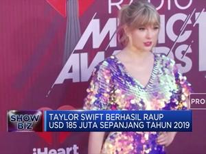 Taylor Swift Kembali Jadi Musisi dengan Bayaran Tertinggi