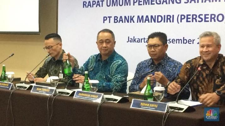 Bank Mandiri Catat Kenaikan Transaksi Nataru Hingga 2 Ribu per Second