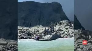 VIDEO: Detik-detik Sebelum Gunung Api Selandia Baru Meletus