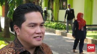 Erick Thohir Isyaratkan Copot Komut Garuda Indonesia