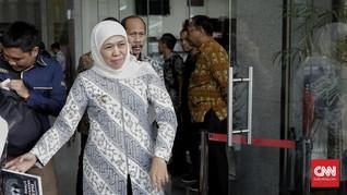 Khofifah Kumpulkan Kepala Daerah se-Jatim Usai OTT Saiful