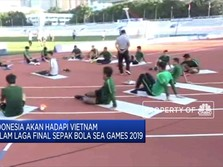 Indonesia Siap Hadapi Vietnam Dalam Laga Final Sea Games 2019