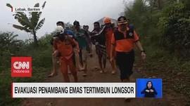VIDEO: 9 Penambang Tertimbun Longsor Ditemukan Selamat