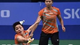 Greysia/Apriyani Dikalahkan Ganda Jepang di BWF Tour Finals