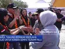 Chairul Tanjung Resmikan Sekolah & Masjid Untuk Korban Gempa