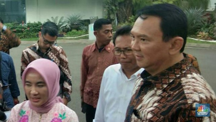 Bertemu Jokowi, Ahok & Bos Pertamina Bahas CAD & Subsidi BBM