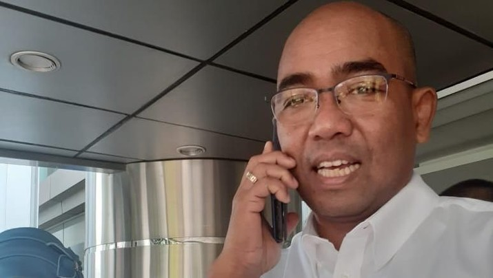 Direktur Utama PT Inalum (Persero), Orias Petrus Moedak (CNBC Indonesia/Anisatul Umah)