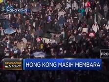 Unjuk Rasa Hong Kong Kembali Membesar