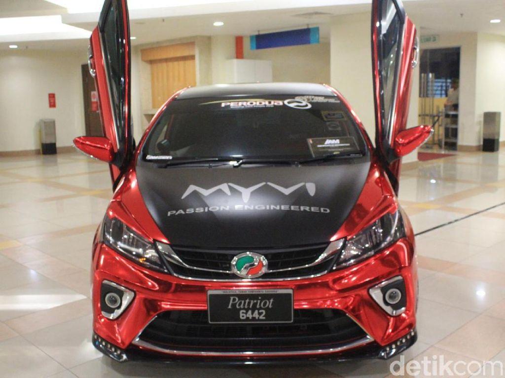 Kembaran Sirion di Malaysia Pakai Pintu ala Lamborghini