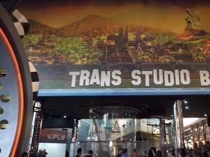 Intip Canggihnya Wahana di Trans Studio Bali!