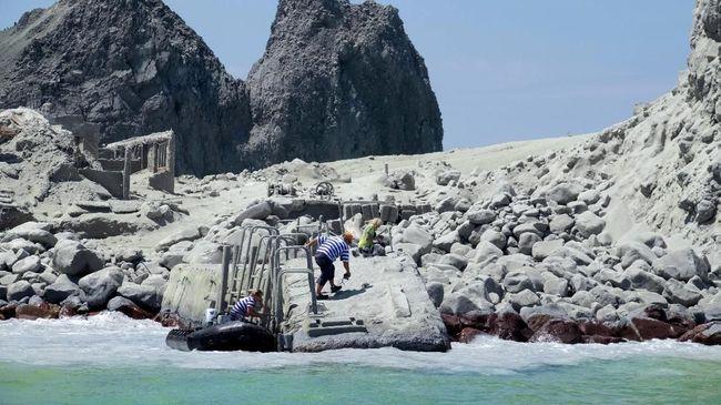 6 Korban Tewas Letusan Gunung di Selandia Baru Ditemukan