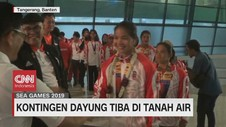VIDEO: Kontingen Dayung Tiba di Tanah Air