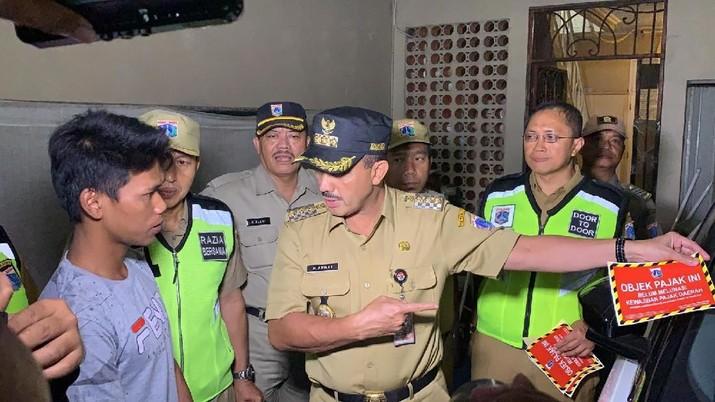 Rumah crazy rich di DKI Jakarta juga akan disisir petugas pajak.