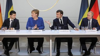 Putin-Presiden Ukraina Lanjutkan Proses Perdamaian Krimea
