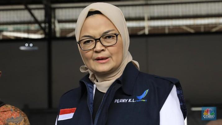 Kepala BADAN POM RI Penny K.Lukita (CNBC Indonesia/Muhammad Sabki)