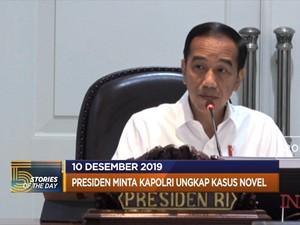 Jokowi: Kasus Novel Selesai hingga Filipina di SEA Games 2019
