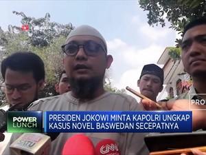 Presiden Jokowi Minta Kapolri Ungkap Kasus Novel Baswedan