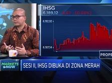 Masuk Zona Merah, Koreksi IHSG Dinilai Analis Masih Wajar