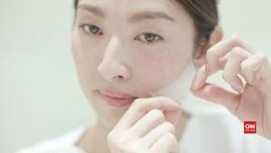 VIDEO: Jepang Bikin Masker Pelembap Tertipis di Dunia