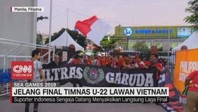 VIDEO: Antusias Penonton Jelang Final Timnas U-22 Vs Vietnam