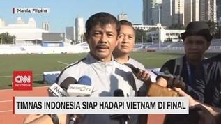 VIDEO: Timnas Indonesia Siap Hadapi Vietnam di Final