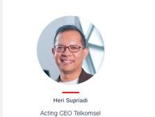 Emma ke Pertamina, Heri Supriadi Jadi Acting CEO Telkomsel