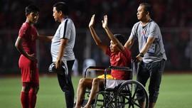 Evan Dimas Pakai Kursi Roda Usai Tekel Horor Van Hau