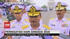 VIDEO: KSAL Pimpin Upacara Peringatan Hari Armada 2019