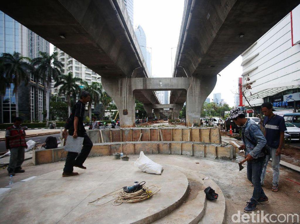 Skate Park hingga Ruang Seni Dibangun di Kolong JLNT Casablanca