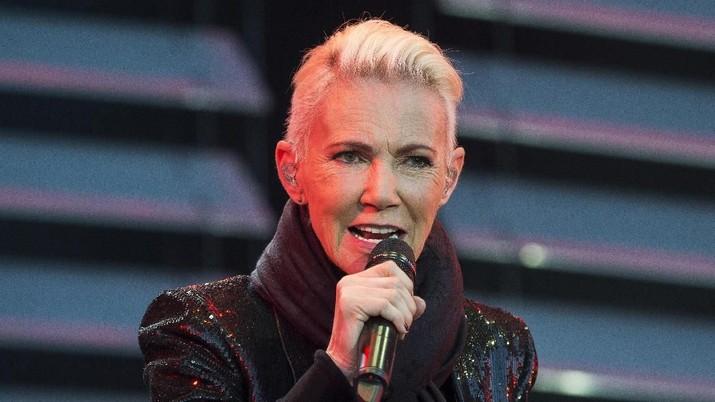 Vokalis Band Roxette Marie Fredikkson tutup usia di 61 tahun setelah berjuang melawan kanker selama 17 tahun.