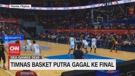 VIDEO: Timnas Basket Putra Gagal ke Final