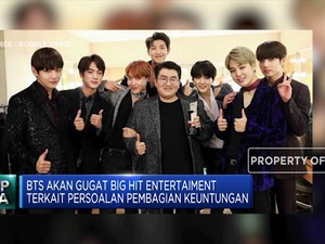 Perkara Bagi Hasil, BTS akan Gugat Big Hit Entertainment