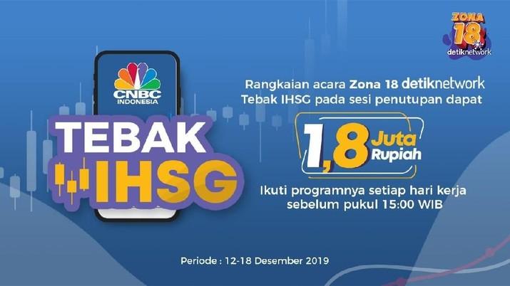 Ikut dari Hari Pertama, Hendri Menang Tebak IHSG di Hari Ke-4