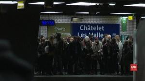 VIDEO: Mogok Hari Keenam Transportasi Umum Paris Masih Lumpuh