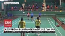 VIDEO: Persiapan Kejuaraan Bulutangkis Asia U15 dan U17