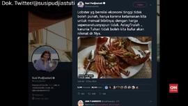 VIDEO: Susi Kritik Menteri KKP Soal Ekspor Benih Lobster