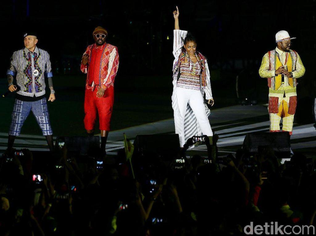 The Black Eyed Peas Tutup SEA Games 2019 dengan Meriah