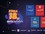 Ada Hadiah Total Puluhan Juta Rupiah di ZONA 18 detiknetwork!