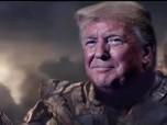Penampakan Donald Trump Jadi Thanos yang 'Sikat' DPR AS