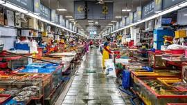 Pesta Seafood di Pasar Ikan Jagalchi Busan